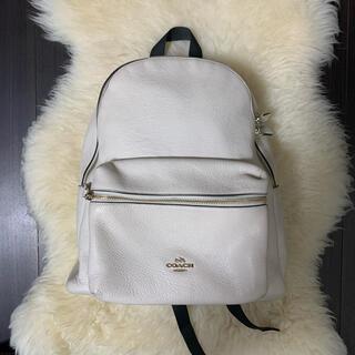 COACH - COACH_Charlie Backpack white