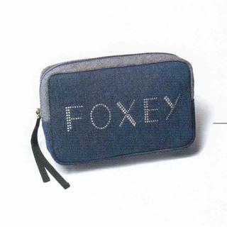 FOXEY - 未開封☆フォクシー デニムポーチ