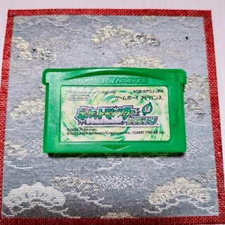 GBAソフト ポケットモンスター リーフグリーン(携帯用ゲームソフト)