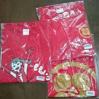 モモイロクローバーゼット(ももいろクローバーZ)のももいろクローバーZ百田夏菜子 赤 レッド・笑顔のチカラだーっ『Z』Tシャツ(アイドルグッズ)