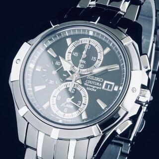 SEIKO - 定価52000円【新品即納】セイコー 高級 メンズ腕時計 クロノグラフ 41mm