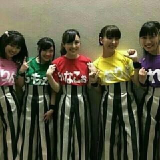 モモイロクローバーゼット(ももいろクローバーZ)のももいろクローバーZ私の青春Tシャツ シーズン1百田夏菜子 赤 レッドS(アイドルグッズ)