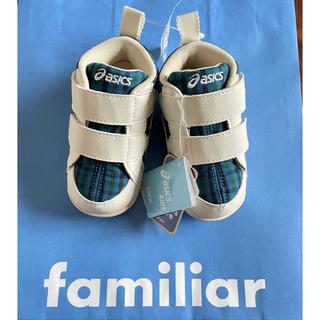 familiar - 【新品】ファミリア アシックスコラボ スニーカー 13cm