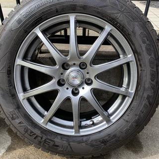 グッドイヤー(Goodyear)の2018年製 ICE NAVI ホイール ロクサーニ 30系アルファードに(タイヤ・ホイールセット)