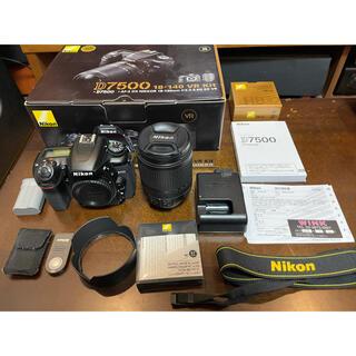 Nikon - Nikon ニコン D7500 18-140mm レンズキット デジタル一眼