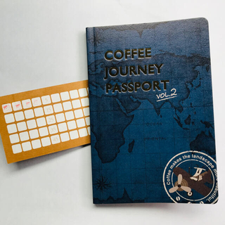 カルディ(KALDI)のKALDI Coffee Journey passport vol.2(ノベルティグッズ)