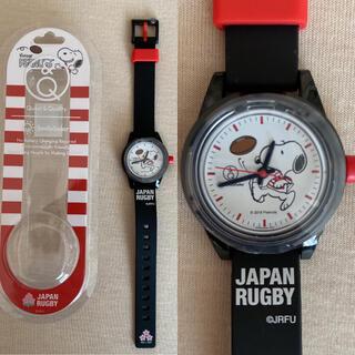 PEANUTS - ★新品・レア★ラグビー日本代表 スヌーピー コラボ 腕時計