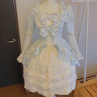 Angelic Pretty - baby the stars shine bright 春姫 姫袖ワンピース