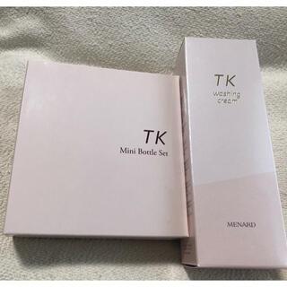 メナード(MENARD)のメナード TK ウォッシングクリーム 3点ミニボトルセット(洗顔料)
