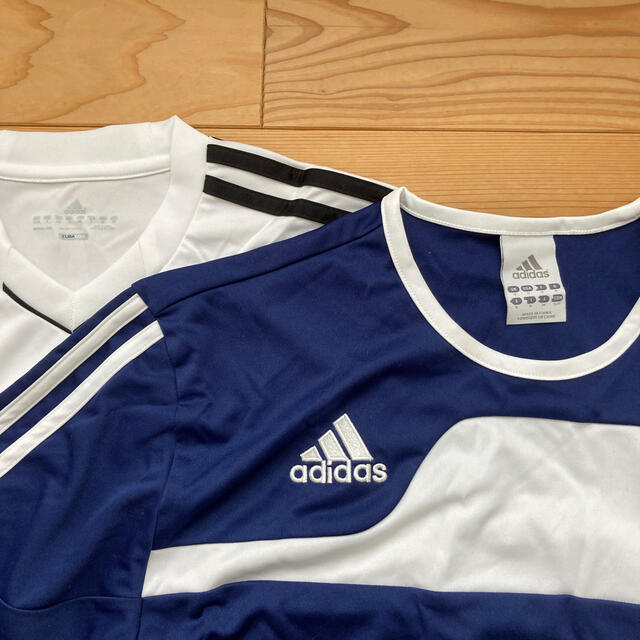 adidas(アディダス)のadidas  サッカー フットサル 半袖セットアップ スポーツ/アウトドアのサッカー/フットサル(ウェア)の商品写真