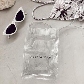 ALEXIA STAM - ALEXIA STAM クリアショルダーバッグ