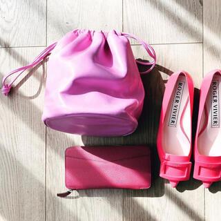 GALLARDA GALANTE - ガリャルダガランテ 大草直子さん愛用 ピンク 巾着バッグ