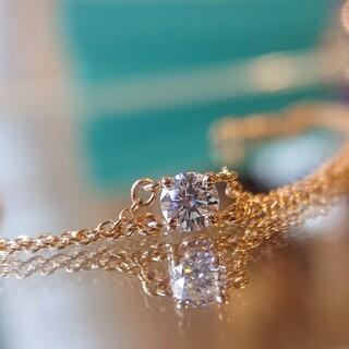 ティファニー(Tiffany & Co.)のティファニー ソリティア ブレスレット K18 RG PG ダイヤ ダイヤモンド(ブレスレット/バングル)