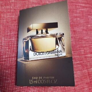 ドルチェアンドガッバーナ(DOLCE&GABBANA)のDOLCE&GABBANA ザ.ワン オードパルファム 1.5ml(香水(女性用))
