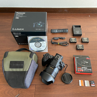 Panasonic - 美品!付属品多数!バッテリー2個!パナソニック LUMIX DMC-FZ1000