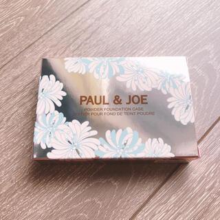 PAUL & JOE - PAUL & JOE パウダー ファンデーション ケース 猫