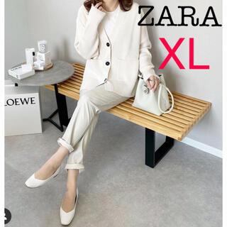ZARA - ZARA ポケット付きニットカーディガン  Deuxieme Classe
