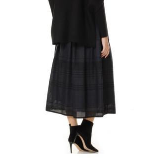 エムプルミエ(M-premier)のブレンヘイム BLENHEIM ラップスカート(ひざ丈スカート)
