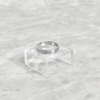 Hermes - 正規品 エルメス 指輪 キリム ホワイトゴールド 750 WG リング H 金