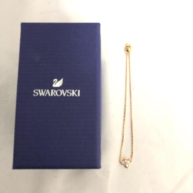 SWAROVSKI(スワロフスキー)のSWAROVSKI スワロフスキー アクセサリー ブレスレット レディース 箱 レディースのアクセサリー(ブレスレット/バングル)の商品写真