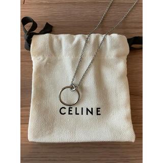 celine - セリーヌ CELINE ノット ネックレス シルバー