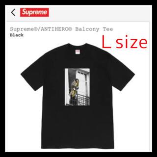 シュプリーム(Supreme)の【Black/L】 Supreme®/ANTIHERO® Balcony Tee(Tシャツ/カットソー(半袖/袖なし))