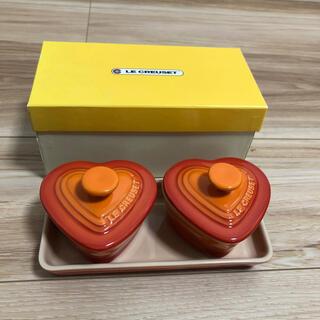 ルクルーゼ(LE CREUSET)のルクルーゼ プチラムカンダムール オレンジ(食器)