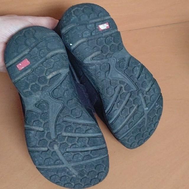 THE NORTH FACE(ザノースフェイス)のザ・ノース・フェイス  ヌプシ 黒  21センチ キッズ/ベビー/マタニティのキッズ靴/シューズ(15cm~)(スリッポン)の商品写真