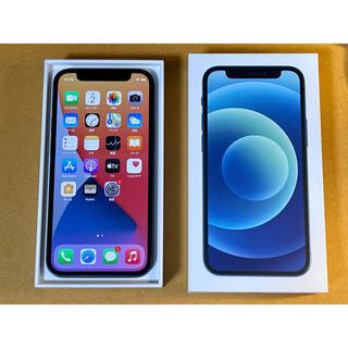iPhone - 新品同様 iPhone 12 mini 64GB ブルー SIMフリー