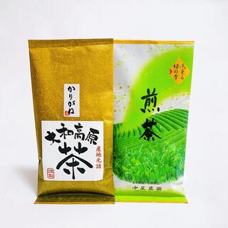 中尾農園 大和茶 煎茶 かりがね 2本セット(茶)