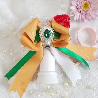 ペンライトリボン キンブレリボン セクガル 緑(アイドルグッズ)