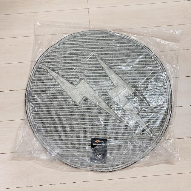 FRAGMENT(フラグメント)のグレー S フラグメント ギャラリー1950 ラグマット 70cm 2 インテリア/住まい/日用品のラグ/カーペット/マット(ラグ)の商品写真