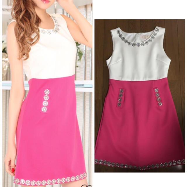 EmiriaWiz(エミリアウィズ)のエミリアウィズ  ビジュードレス レディースのフォーマル/ドレス(ミニドレス)の商品写真