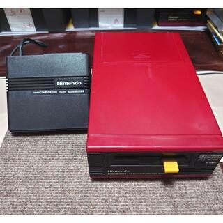 ファミリーコンピュータ - 【完動品】後期型『ディスクシステム本体+RAMアダプタ』セット(調整済み)