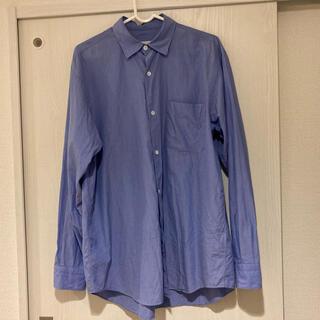 COMOLI - コモリシャツ サックス サイズ1