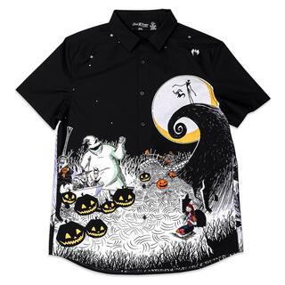 Disney - ナイトメアビフォアクリスマス ユニセックスシャツ Lサイズ ラウンジフライ