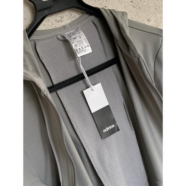 adidas(アディダス)の☆早い者勝ち☆新品☆adidas メンズ ジャージ パーカー グレー メンズのトップス(ジャージ)の商品写真