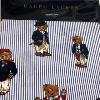 Ralph Lauren - 新品♪ラルフローレン(S)ベア柄掛け布団カバー