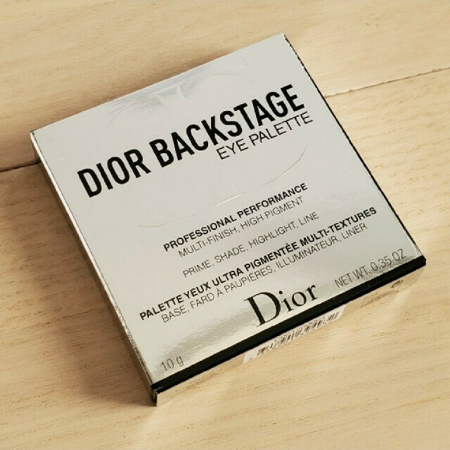 Christian Dior(クリスチャンディオール)のディオール バックステージ アイパレット001 ウォーム コスメ/美容のベースメイク/化粧品(アイシャドウ)の商品写真
