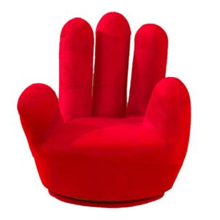 新製品#指髪椅子5指ソファ1人乗りソファ(ハイバックチェア)