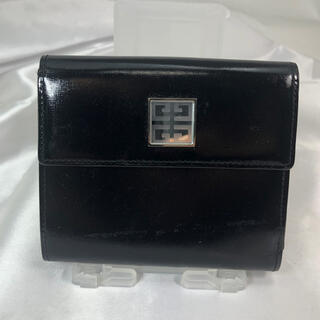 GIVENCHY - ジバンシー GIVENCHY 折財布 黒 ブラック レディース