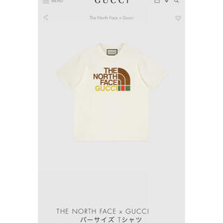 Gucci - THE NORTH FACE x GUCCI  Tシャツ M 新品未使用