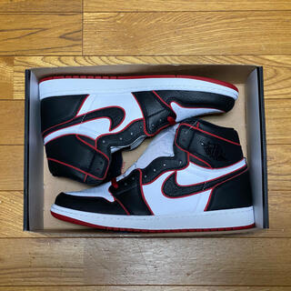 ナイキ(NIKE)の30 JORDAN 1 RETRO HIGH OG BLOODLINE(スニーカー)