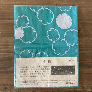 日本製手ぬぐい 雪輪柄