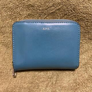 A.P.C - アーペーセー APC 財布 ブルー