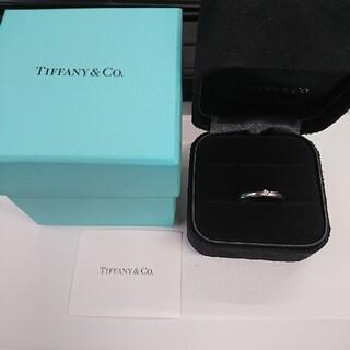 ティファニー(Tiffany & Co.)のTiffany ティファニー ペレッティ  プラチナ 甲丸リング 9号(リング(指輪))