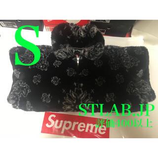 Supreme - 黒 S Supreme Bandana Fur Bomber Jacket