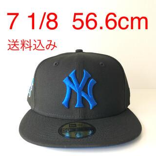 ニューエラー(NEW ERA)のNew Era Cap ツバ裏ブルー 1/8 ニューエラ ヤンキース キャップ(キャップ)