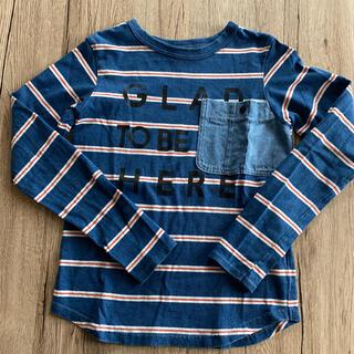 BREEZE - BREEZE ボーダーロングTシャツ