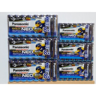 Panasonic - 【新品】パナソニック EVOLTA NEO アルカリ乾電池 / 計48本